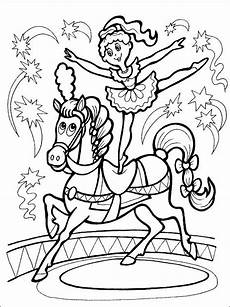 circus coloring page coloring pages