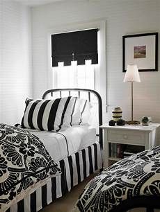 Black And White Small Bedroom Ideas by 15 Black And White Bedrooms Hgtv
