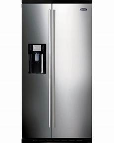 rangemaster sxs 15 stainless steel with chrome trim american fridge freezer 10819 buy online