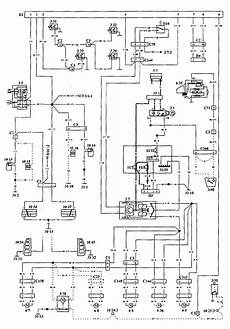 volvo 940 1994 1995 wiring diagrams security anti theft carknowledge