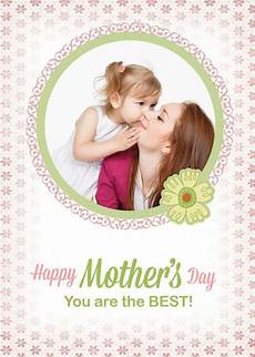 mothers day photo card templates free free custom photo s day cards psd templates free