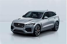 550 hp 2019 jaguar f pace svr is the v 8 variant we ve
