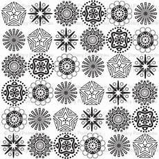Mandala Klein - mini mandalas giftwrap madebymemyselfandi spoonflower