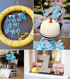1st birthday decoration themes kara s ideas construction truck themed 1st birthday