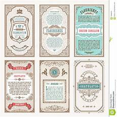 invitation card template vintage vintage set retro cards template greeting card wedding
