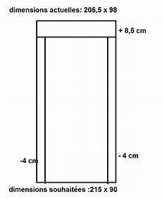 dimension standard porte d entrée redimensionner encadrement porte d entr 233 e