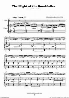 rimsky korsakov the flight of the bumblebee sheet music
