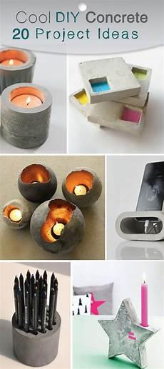 20 Cool Diy Concrete Project Ideas Hative