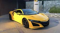 2020 acura nsx 2020 acura nsx gets throwback indy yellow paint option