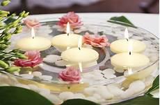 decorazioni con candele le candele galleggianti matrimonio mon amour