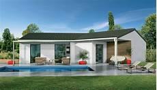 la maison m 76413 mod 232 les et plans de maisons plain pied plans mod 232 les demeures d aquitaine constructeur