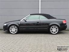 2007 audi s4 cabriolet 4 2 v8 quattro tiptronic car photo and specs