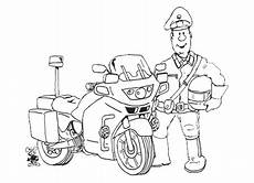 ausmalbild motorrad polizeiausmalbild polizei motorrad
