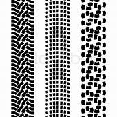 Black Pattern Prints From A Different  Stock Vector