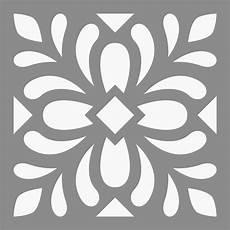 pochoir carreau ciment 15x15x0 2 cm artemio boutique