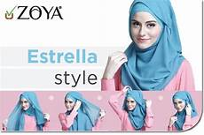 Tutorial Pashmina Estrella Style By Zoya Kerudung