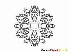 Ausmalbilder Schneeflocken Gratis Schneeflocke Muster Mandala Ausmalbild Gratis