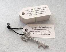 diy wedding favors skeleton key bottle openers quot poem quot thank you tags wedding favors of