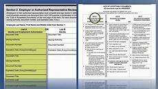 video form i 9 employment eligibility verification section two uscis youtube