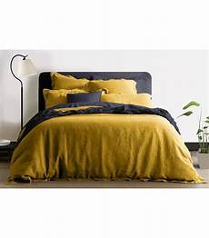 housse de couette 100 jaune moutarde my bed