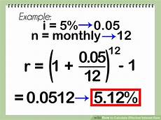 how to calculate effective interest rate 8 steps with