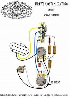 Prewired Kit Esquire Tele 1950 Arty S Custom Guitars