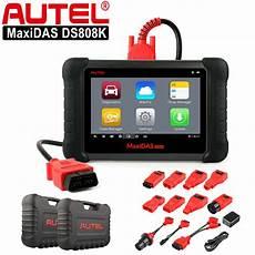 diag auto 37 autel maxidas ds808k pro auto diagnostic tool obd2 fault code reader scanner 768430777960 ebay