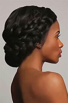 Black Updo Hairstyle