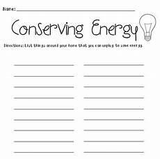 conserving energy worksheet group activities homework and activities