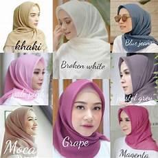 Jilbab Segi Empat Murah Harga 5000 Terbaru 2019 Hijabdut