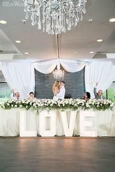a pale pink wedding theme head table wedding head table wedding decorations wedding table