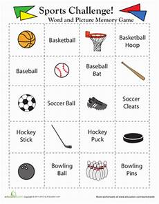 sports worksheets for middle school 15728 memory match sports middle school science math worksheets physical education lesson plans