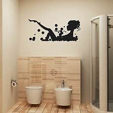 Bathroom Wall Sticker In Bath Vinyl Wall
