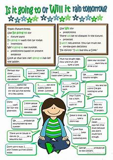 future forms will or be going to worksheet free esl printable worksheets made by teachers