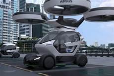 Airbus Pr 233 Sente Pop Up Concept De Voiture Volante