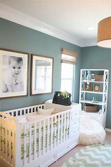 great color scheme wall color burlap lam shade details white molding nursery