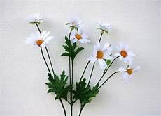 Marguerite Sauvage 8 Fleurs Artificielles Blanches