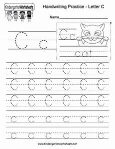 letter c tracing worksheets for preschool 23580 letter c writing practice worksheet this series of handwriting alphabet wor writing practice