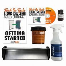 hack the yudu screen liquid emulsion kit by merchmakr replaces 25 emulsion sheets vains
