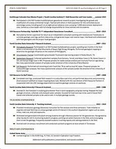 student resume sle distinctive documents