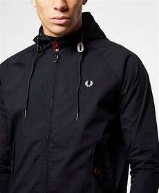 fred perry hooded harrington jacket scotts menswear