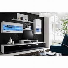 meuble tv mural design quot logo quot 250cm blanc