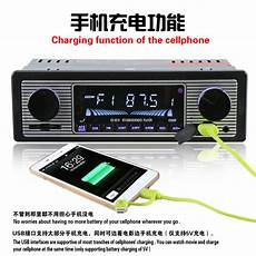 Dual Microphone Input Remote Bluetooth by Car Stereo Dual Knob Built In Bluetooth Microphone Usb Sd