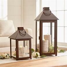 bronze lanterns crate and barrel