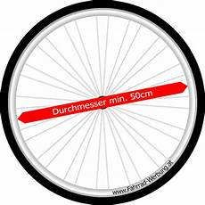 Vorderrad Varianten Fahrrad Werbung