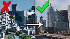 how to form a city how to make cities skylines realistic youtube