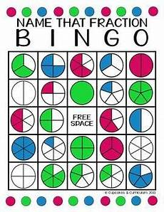 fraction bingo worksheets 3859 fractions fractions math fractions fraction