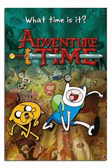adventure time collage cartoon network large maxi wall