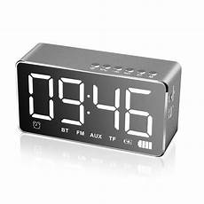 Bakeey Electronic Clock Display Dual Output by Bakeey Q31 Wireless Bluetooth 5 0 Speaker Led Display Dual
