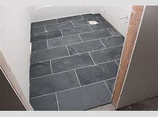 "12 x 24"" Montauk Black Slate tiles   Floors   Pinterest"